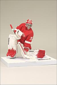 NHL Sportspicks Series 27 Jimmy Howard (Detroit Red Wings) Red Jersey