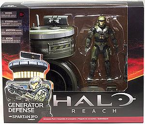 "Halo Reach 6"" Box Set: Generator Defence with Spartan JFO"