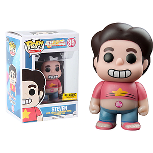 Pop! Animation Steven Universe Vinyl Figure Steven (Glows in the Dark) #85 Hot Topic Exclusive