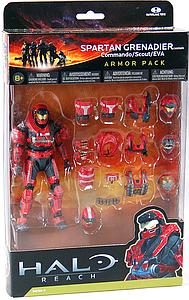 "Halo Reach 6"" Series 4 Armor Pack: Spartan Grenadier Commando/Scout/EVA"