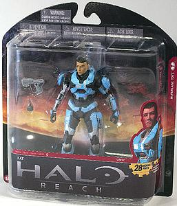 "Halo Reach 6"" Series 6: Kat (unhelmeted)"