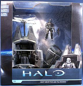 "Halo Universe 6"" Series 1: ODST Drop Pod with The Rookie"