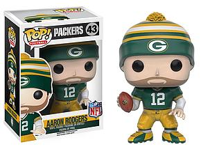 Pop! Football NFL Vinyl Figure Aaron Rodgers (Green Bay Packers)  #43