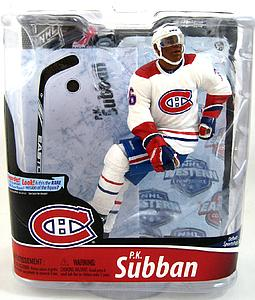 McFarlane NHL Sportspicks Series 28 P.K. Subban (Montreal Canadiens) White Jersey Collector Level Bronze (Only 3000 Made)