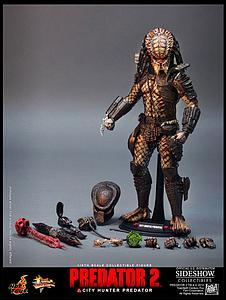 "Predator 2 14"" Figure City Hunter Predator"