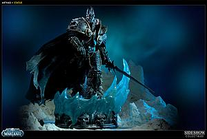 "Sideshow World of Warcraft 19"" Polystone Figure: Arthas"