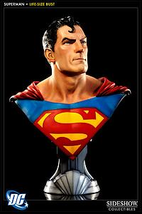 "Sideshow DC Collectible 30"" Bust Figure: Superman"