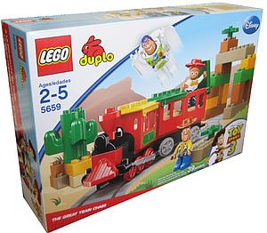 Lego Duplo Toy Story 3: The Great Train Chase 5659