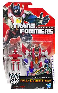 Transformers Generations Fall of Cybertron Deluxe Class: Starscream