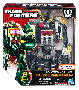 Transformers Generations Fall of Cybertron Voyager Class: Soundblaster