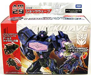 Transformers Prime Japanese Series Deluxe: Shockwave AM-29