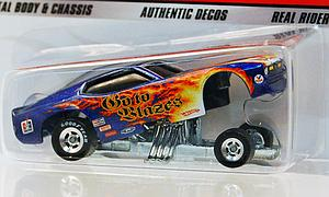Hot Wheels Dragstrip Demons Cars Die-Cast: '71 Mustang Funny Car
