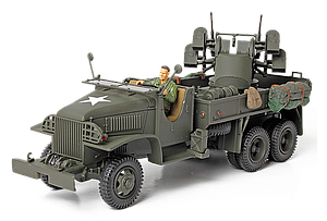 GMC® 2.5 Ton Cargo Truck with 4x0.5 AA Machine Gun (80060)