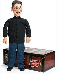 "Jeff Dunham 30"" ""Little Jeff"" Ventriloquist Doll with DVD"