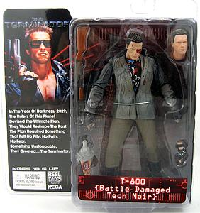 "Terminator 7"" Series 1: T-800 Cyborg (Tech-Noir Battle Damaged)"