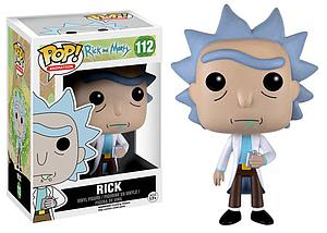 Pop! Animation Rick & Morty Vinyl Figure Rick #112