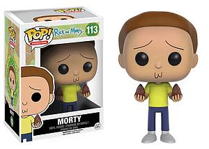 Pop! Animation Rick & Morty Vinyl Figure Morty #113