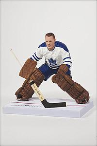 NHL Sportspicks Series 32 Johnny Bower (Toronto Maple Leafs) White Jersey