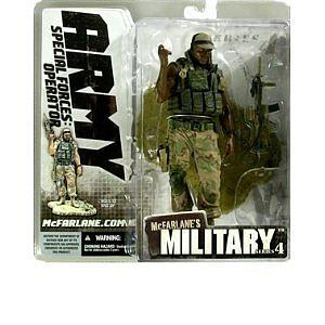 Military Series 4: Special Forces Operator (African American)