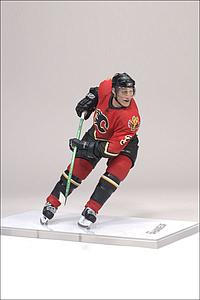 NHL Sportspicks Series 15 Dion Phaneuf (Calgary Flames) Red Jersey