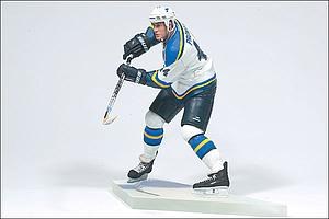 NHL Sportspicks Series 2 Chris Pronger (St. Louis Blues) White Jersey