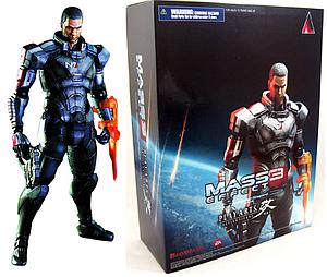 "Mass Effect 3 Play Arts Kai 8"": Commander Shephard"