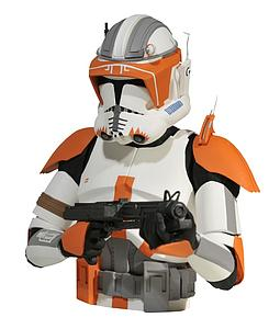 Star Wars Commander Cody Bust Bank
