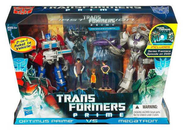 Transformers Prime First Edition Deluxe Class 2-Pack: Optimus Prime VS Megatron