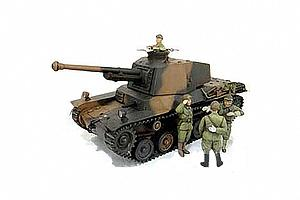 Japanese Type 3 Medium Tank - Chi-Nu with Figures (25107)
