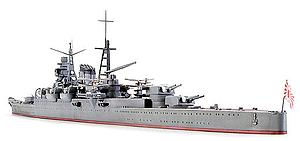 Japanese Heavy Cruiser Mikuma (31342)