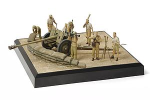 German 7.62cm Pak 36(r) - North Africa Scenery Set (32408)