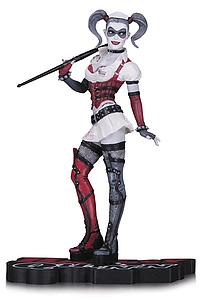 Harley Quinn Red White & Black