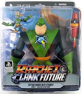 "Ratchet & Clank Future 7"" Series: Captain Qwark with Scrunch"