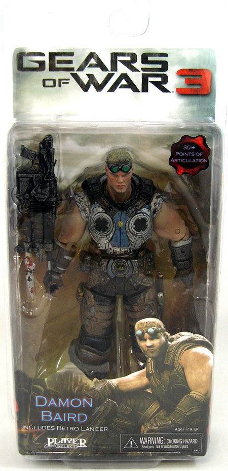 Gears of War 3 Series 2: Damon Baird