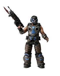 Gears of War 3 Series 3: Cog Soldier with Retro Lancer