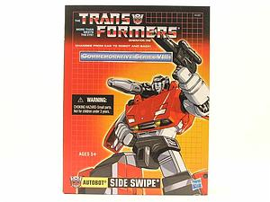 Transformers G1 Commemorative Series Series Deluxe Class Side Swipe