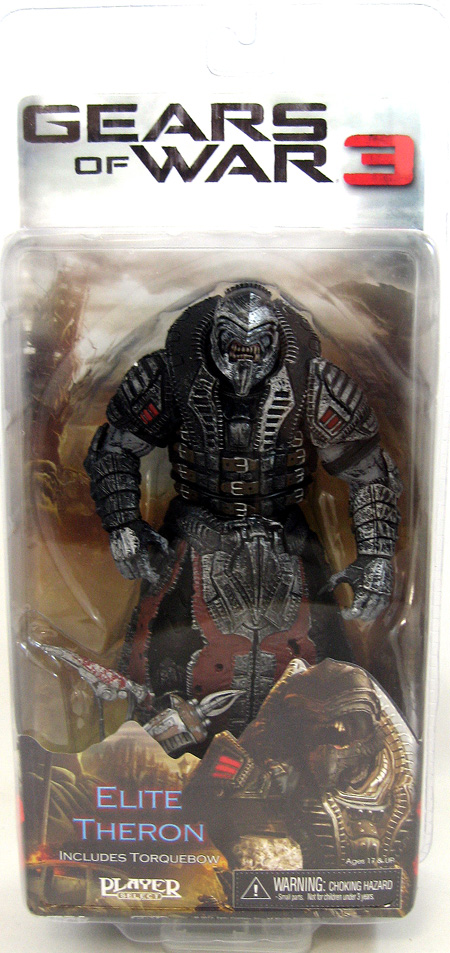 Gears of War 3 2012 SDCC Exclusive: Elite Theron with Torquebow