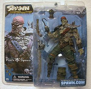 Spawn Series 20 Alternate Realities: Pirate Spawn