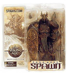 Spawn Dark Ages Series 22: Skullsplitter (Damaged)