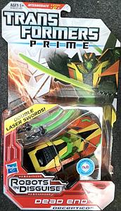 Transformers Prime Series Deluxe Class Dead End