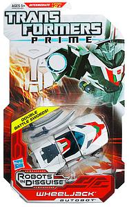 Transformers Prime Series Deluxe Class Wheeljack