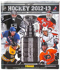 2012-13 Panini NHL Album Stickers Book