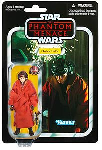"Star Wars The Phantom Menace The Vintage Collection 3.75"" Action Figure Naboo Pilot (VC72)"