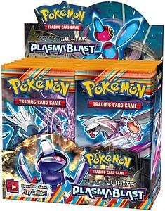 Pokemon Trading Card Game: Black & White Plasma Blast Booster Box (36 Packs)