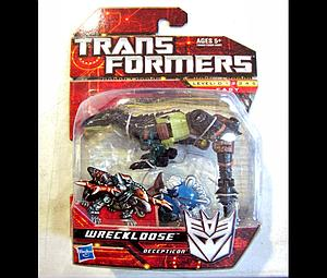 Transformers Generations Series Scout Class Wreckloose