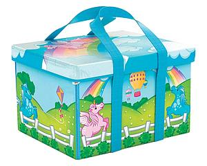 Neat-Oh! ZipBin Mini Unicorn Play Set