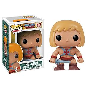 Pop! Television Masters of the Universe Vinyl Figure He-man #17 (Vaulted)