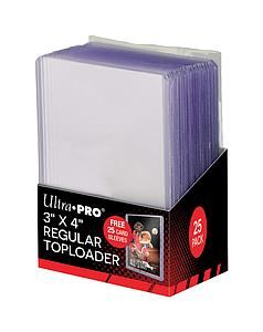"3"" X 4"" Clear Regular Toploader with Card Sleeves"
