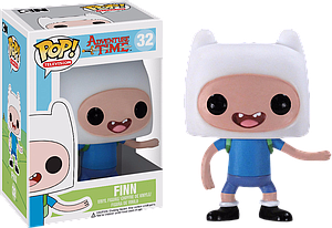 Pop! Television Adventure Time Vinyl Figure Finn #32 (Vaulted)