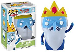 Pop! Television Adventure Time Vinyl Figure Ice King #34 (Vaulted)
